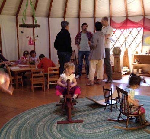 Inside the Acorn School