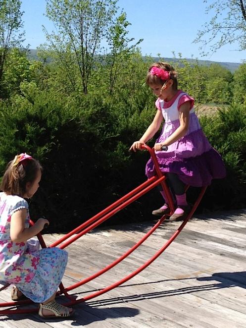 Swinging at the Acorn School