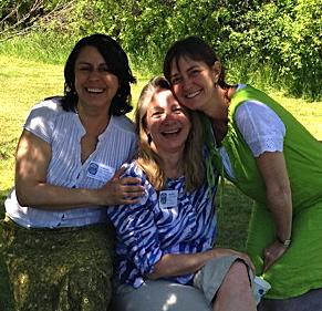 Elsa, Wendy, and Motria.... where is Monica?