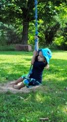 rope swing fun